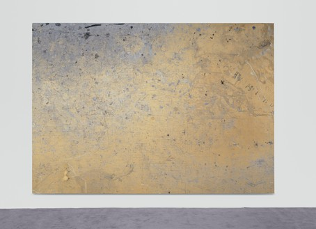 Rudolf Stingel, Untitled, 2010 Oil and enamel on canvas, 130 × 185 inches (330 × 470 cm)© Rudolf Stingel