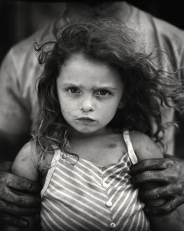 Sally Mann, Holding Virginia, 1989 Gelatin silver print, 24 × 20 inches (61 × 50.8 cm), edition of 25© Sally Mann