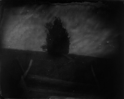 Sally Mann, Battlefields, Manassas (Home Field), 2001 Varnished gelatin silver print, 40 × 50 inches (101.6 × 127 cm), edition of 5© Sally Mann