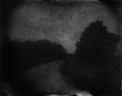 Sally Mann, Battlefields, Chancellorsville (Rever's Turn), 2002 Varnished gelatin silver print, 40 × 50 inches (101.6 × 127 cm), edition of 5© Sally Mann