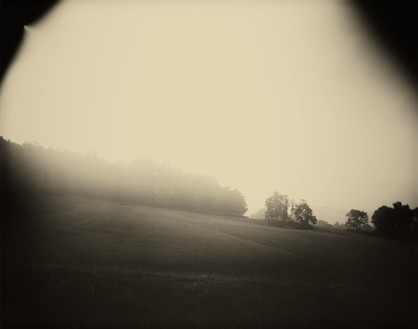 Sally Mann, Virginia, Untitled (Upper Field), 1993 Tea-toned gelatin silver print, 40 × 50 inches (101.6 × 127 cm), edition of 10© Sally Mann