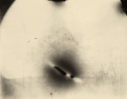 Sally Mann, Georgia, Untitled (Black Spot), 1996 Tea-toned gelatin silver print, 40 × 50 inches (101.6 × 127 cm), edition of 10© Sally Mann