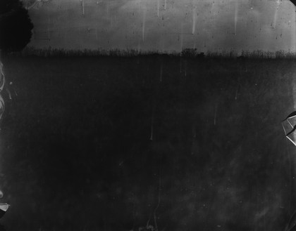 Sally Mann, Battlefields, Antietam (Cobweb), 2002 Varnished gelatin silver print, 40 × 50 inches (101.6 × 127 cm), edition of 5© Sally Mann
