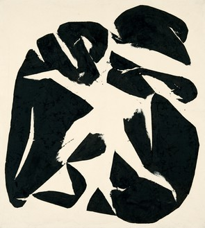 Simon Hantaï, Meun, 1968 Oil on canvas, 89 ¾ × 80 ⅜ inches (228 × 204.2 cm)© Archives Simon Hantaï/ADAGP, Paris