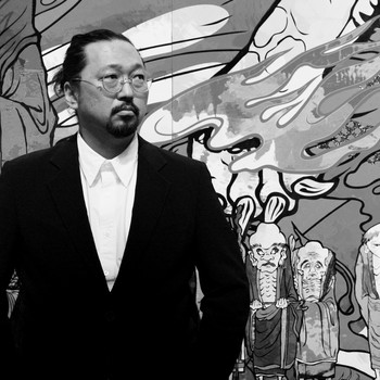 A portrait photograph of Takashi Murakami