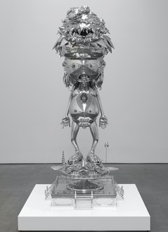 Takashi Murakami, Invoking the Vitality of a Universe Beyond Imagination, 2014 Mixed media, 32 ⅜ × 78 ¾ × 37 inches (82 × 200 × 94 cm)© 2014 Takashi Murakami/Kaikai Kiki Co., Ltd. All rights reserved