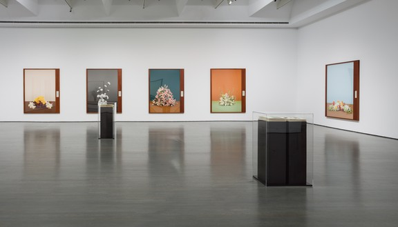 Installation view, Taryn Simon: Paperwork and the Will of Capital, MOMENTA | Biennale de l'image at Musée d'art contemporain de Montréal, Quebec, September 8–November 19, 2017 Artwork © Taryn Simon. Photo: Richard-Max Tremblay, courtesy MAC Montréal