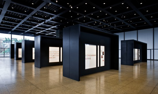 Installation view, Taryn Simon: A Living Man Declared Dead and Other Chapters, Neue Nationalgalerie, Berlin, September 21, 2011–January 1, 2012 Artwork © Taryn Simon. Photo: David von Becker, courtesy Neue Nationalgalerie