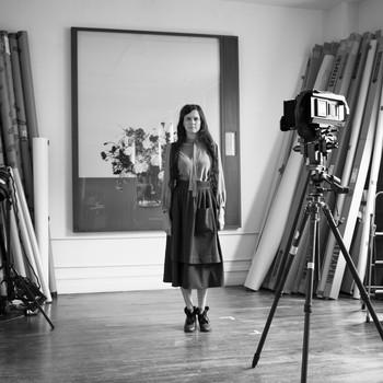 A portrait photograph of Taryn Simon