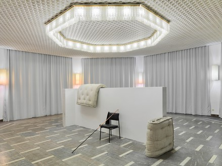 Installation view, Tatiana Trouvé: Somewhere, 18-12-95. An Unknown. 1981, Schinkel Pavillon, Berlin, January 18–March 9, 2014 Artwork © Tatiana Trouvé. Photo: Roman März