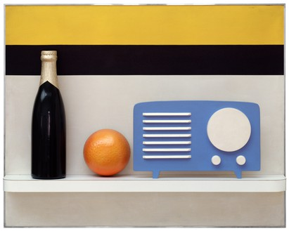Tom Wesselmann, Still Life #41, 1964 Synthetic polymer paint on wood and plastic, 48 × 60 × 8 inches (121.9 × 152.4 × 20.3 cm), Art Institute of Chicago© The Estate of Tom Wesselmann/Licensed by VAGA, New York