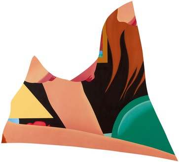 Tom Wesselmann, Bedroom Painting #63, 1983 Oil on canvas, 99 ¾ × 110 ½ inches (253.4 × 280.7 cm)© The Estate of Tom Wesselmann/Licensed by VAGA, New York