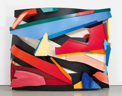 Tom Wesselmann, Screen Star, 1999/2003 Oil on cutout aluminum, 109 × 139 × 43 inches (276.9 × 353.1 × 109.2 cm)© The Estate of Tom Wesselmann/Licensed by VAGA, New York