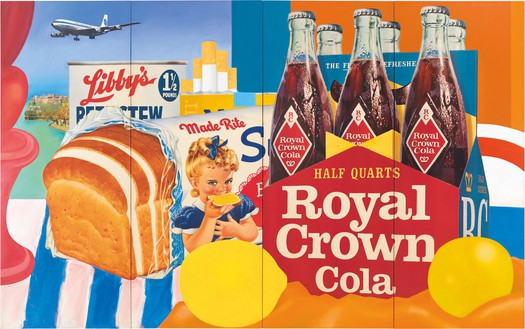 Tom Wesselmann, Still Life #35, 1963 Oil and collage on canvas, 120 × 192 inches (304.8 × 487.7 cm)© The Estate of Tom Wesselmann/Licensed by VAGA, New York