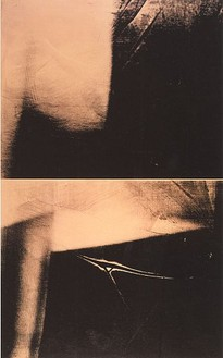 Andy Warhol, Shadows, 1978 Synthetic polymer paint and silkscreen ink on canvas, 78 × 50 inches (198.1 × 127 cm)
