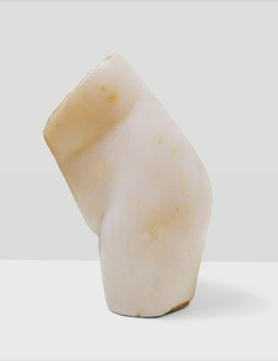 Constantin Brancusi, Trunk, 1909 Marble, 9 ⅝ × 6 ¼ × 6 inches (24.4 × 15.9 × 15.2 cm)