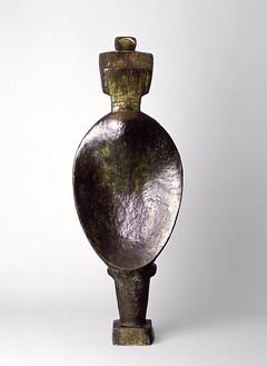 Alberto Giacometti, Spoon Woman, 1926 Bronze, 57 ⅛ × 20 ½ × 9 ⅞ inches (145.1 × 52.1 × 25.1 cm)