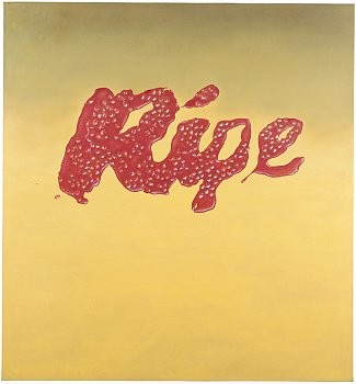Ed Ruscha: Romance with Liquids, 980 Madison Avenue, New York