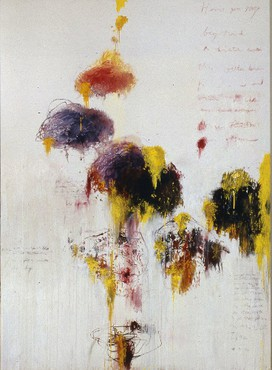 Cy Twombly: Untitled Painting, Wooster Street, New York