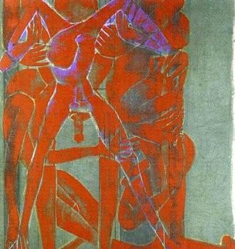 Francesco Clemente: Purgatorio, 980 Madison Avenue, New York
