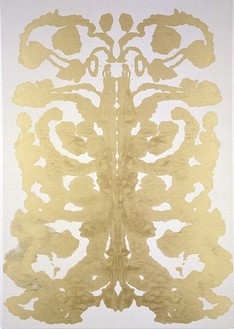 Andy Warhol, Rorschach, 1996 Synthetic polymer paint and silkscreen ink on canvas, 164 × 115 inches (416.6 × 292.1 cm)