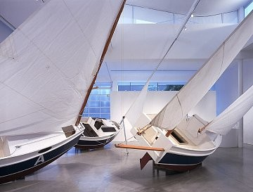 Chris Burden: Three Ghost Ships, Beverly Hills