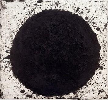 Richard Serra, Willie Dixon, 1997 Painstick on paper, 50 ¼ × 55 inches (127.6 × 139.7 cm)