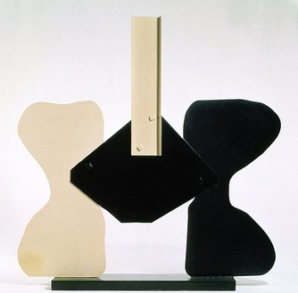 David Smith, Gondola II, 1964 Painted steel, 110 ¼ × 113 × 18 inches (280 × 287 × 45.7 cm)
