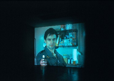 Douglas Gordon: through a looking glass, Wooster Street, New York