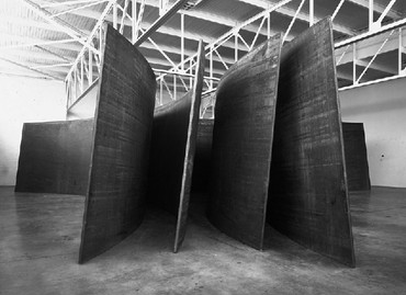 Richard Serra: Switch, West 24th Street, New York