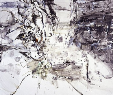 Cecily Brown, Dog Day Afternoon, 1999 Oil on linen, 75 × 90 inches (190.5 × 228.6 cm)