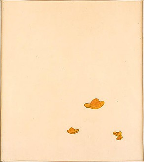 Robert Therrien, No title (duck bills), 2000 Graphite and watercolor on paper, 29 ½ × 25 ¾ inches (74.9 × 65.4 cm)
