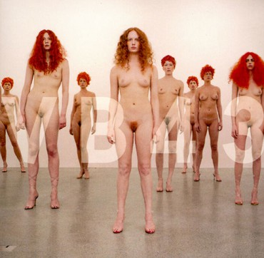 Vanessa Beecroft: VB43, Heddon Street, London