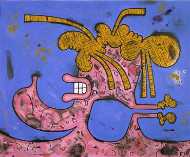 Carroll Dunham: New Paintings, Beverly Hills