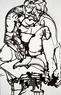David Smith, Untitled, 1964 Enamel on canvas, 51 ⅛ × 32 ½ inches (129.9 × 82.6 cm)