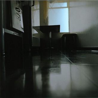 Elisa Sighicelli, Iceland: Kitchen, 2001 Chromogenic print on light box, 49 ¼ × 49 ¼ × 1 ½ inches (125.1 × 125.1 × 3.8 cm), edition of 3© Elisa Sighicelli
