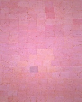 Ellen Gallagher, They could still serve, 2000 Pigment, paper, and glue on linen, 120 × 96 inches (304.8 × 243.8 cm)Photo by Tom Powel Imaging