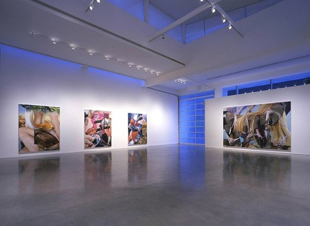 Installation view at Gagosian Beverly Hills Artworks © Jeff Koons, photo by Douglas M. Parker Studio