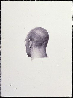 Salomón Huerta, Untitled Head (0108), 2001 Graphite on paper, 15 × 11 inches (38.1 × 27.9 cm)