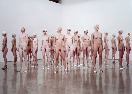 Vanessa Beecroft, VB46, 2011 Photo by Dusan Reljin