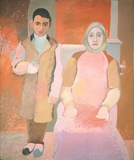 Arshile Gorky, Portrait of the Artist and His Mother, 1926–36 Oil on canvas, 60 × 50 inches (152.3 × 127 cm)Courtesy of the National Gallery of Art, Washington, D.C. Alisa Mellon Bruce Fund