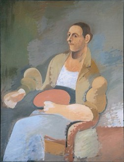 Arshile Gorky, Portrait of Master Bill, 1929–39 Oil on canvas, 52 × 39 ½ inches (132.1 × 100.3 cm)Photo: Rob McKeever