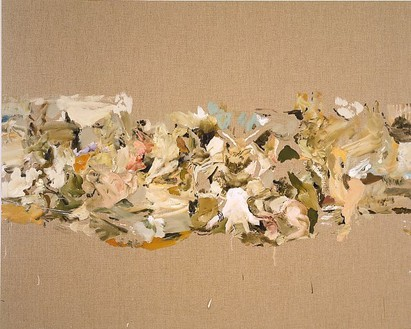 Cecily Brown, Eclogue, 2001 Oil on linen, 48 × 60 inches (121.9 × 152.4 cm)