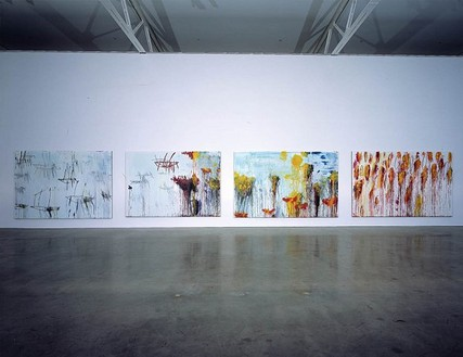 Installation view © Cy Twombly Foundation