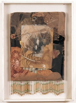 Bruce Conner, September 13, 1959, 1959 Mixed media assemblage, 22 × 15 ½ inches (56 × 39 cm)