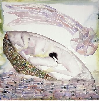 Francesco Clemente: The Book of the Sea, Heddon Street, London