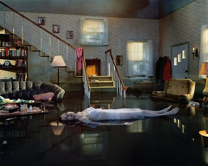 Gregory Crewdson, Untitled, 2001 Digital C-print, Image size: 48 × 60 inches (121.9 × 152.4 cm), edition of 10