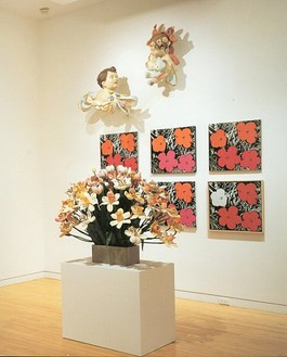 Andy Warhol Jeff Koons: Flowers Installation view
