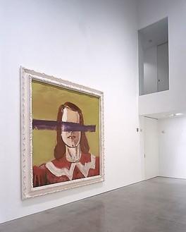 Julian Schnabel: Big Girl Paintings Installation view, photo by Douglas M. Parker Studio