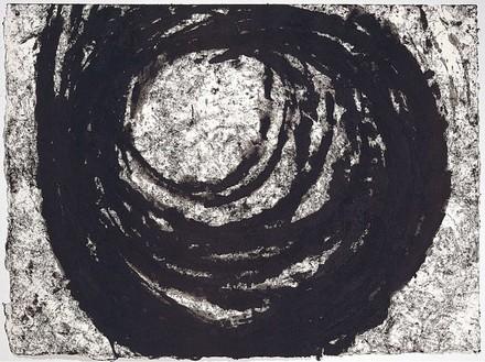 Richard Serra, Elliptical, 2002 Paintstick on handmade paper, 30 × 40 ½ inches (76.2 × 102.9 cm)Photo: Robert McKeever